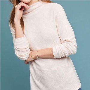 Eri + Ali mock neck holdrege pullover sweater